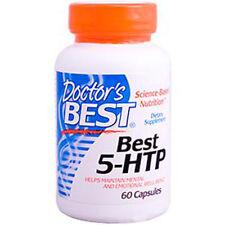 5-HTP, 100mg x 60 Veg Capsules, Mood/Sleep - Doctors Best