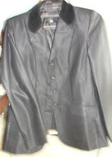 Dressage Riding/Show Summer Jacket Black washable Size M 8/10 new for Sommer !