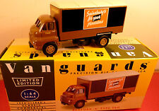 "LLEDO VANGUARDS 8010: SAINSBURYS: BEDFORD ""S"" TYPE VAN:  MINT BOXED 1/64 MODEL"