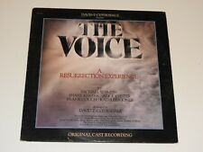THE VOICE ORIGINAL CAST RECORDING MUSICAL RECORD DAVID T CLYDESDALE SPOKEN WORD