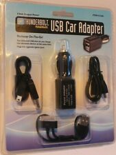 "Thunderbolt Magnum USB Car Adapter Item #61546 - (3) Different 12"" USB Cables"