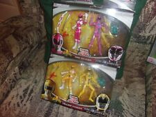 Power Rangers Then And Now PINK & YELLOW