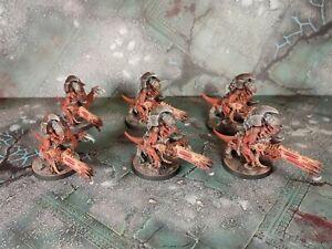 Warhammer 40000 tyranid Hive Guard Old Citadel Finecast x6