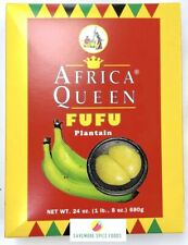 PLANTAIN - FUFU FLOUR - AFRICA QUEEN - 680g
