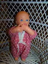 Vintage LGTI baby doll Lewis Galoob toy moving arms Peek a Boo Bouncing Babies