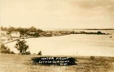 Canada, Ontario, Little Current, Water Front 1910's Real Photo Postcard