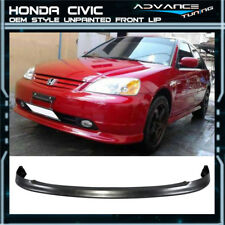 For 01-03 Honda Civic OEM Factory Bumper Lip Spoiler - PP