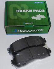 Nakamoto Front Semi-metallic Brake Pads 02-07 Saturn Vue 05-06 Chevrolet Equinox