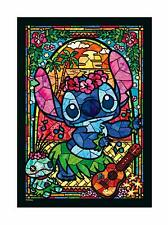 Tenyo Japan 266 piece Jigsaw Puzzle Stained Glass Art Stitch 182 x 257mm