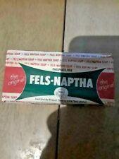 MISP Vintage Fels-Naptha laundry Soap Bar Original Paper Wrapper Purex unopened