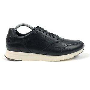 Cole Haan Grand Pro Runner Black Camo Embossed Mens 9 Shoes Sneakers C28285