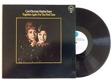 CAROL BURNETT MARTHA RAYE Together Again For The First Time Vinyl LP 1968 NM