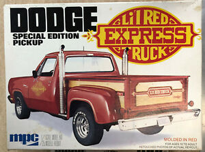 MPC Dodge lil red express truck Special edition pickup #1-0427 dated 1979