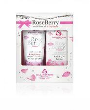 Rose Berry Gift set, 9ml Roll-on perfume & 75ml Hand cream Nature Bulgarian Rose