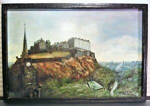 European Landscape Oil Painting Signed