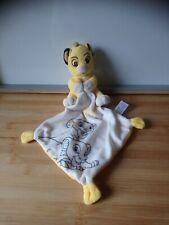 Doudou Simba le roi lion my little king Disney Nicotoy excellente etat