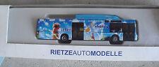 Rietze HO 1/87 MAN Rhenag Vollwerbung Advertising Bus 1 of 225 NIB