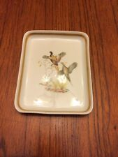 Vintage Porcelain Francaise Exclusivite Charmart Bird Tray