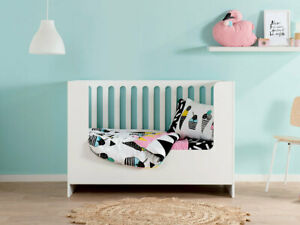 Amalfi Cot Toddler Bed Conversion | Cot Conversion