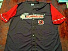 Battle Creek Bombers baseball jersey men's XL Michigan 13 Super Fan