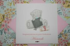 Handmade Personalised Me To You Tatty Teddy Graduation Card
