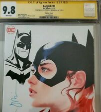 Batgirl #23 Cgc 9.8 signed and Remarked by Joshua Middleton.
