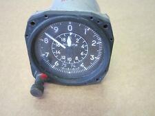 Vintage Soviet Era Aircraft Altimeter