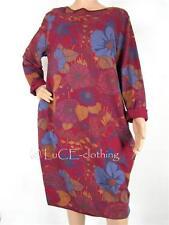 Lockre Sitzende Damenblusen,-Tops & -Shirts im Tuniken-Stil mit Baumwolle für Business