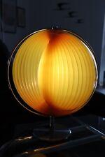 Mid Century Moonlamp Leuchten 70's Lamellen Tischlampe Stil Space Age
