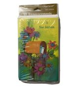 Vintage New Address Cards Mailbox New Sealed American Greetings 10 Announcements