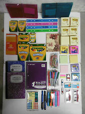 OFFICE SUPPLIES ORGANIZERS MARKERS CRAYONS PENCILS NOTEBOOKS POST-ITS SIGN TABS