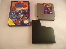Mega Man 3  (Nintendo NES 1990) w/ Box game WORKS! Megaman III