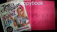 SIGNED JoJo's Guide to the Sweet Life #PeaceOutHaterz by Jojo, autographed, new