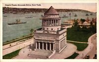 Vintage Postcard - Grant's Tomb, Riverside Drive New York NY Un-Posted #3391