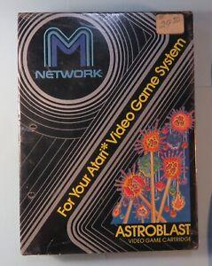 1982 Astroblast Video Game New In Box Mattel M Network Atari 2600 Still Sealed