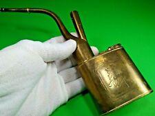 Vintage Hookah Smoking Pipe Pocket Brass Rare Water Hookah Japan China Antique