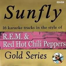 Sunfly Karaoke Gold CDG CD - R.E.M. & Red Hot Chili Peppers CD+G Disc REM