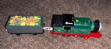 2007 Thomas & Friends TrackMaster Motorized Railway Whiff w/ Trash Cargo Car