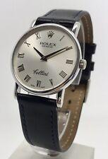 Rolex Cellini Classic 5115 18k White Gold 32mm B&P Men's Manual Wind Watch 2001