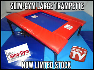 PRO+ GYMNASTICS GYMNASTIC TRAMPETTE BY SLIM GYM - COMPLETE WITH PROTECTION PAD