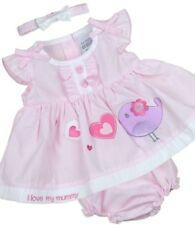 Ropa rosa con algodón para niñas de 0 a 24 meses