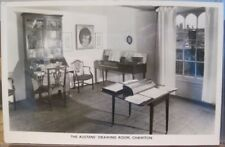 RPPC Postcard JANE AUSTEN DRAWING ROOM Chawton England Real Photo Butler-Kearney