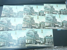 vintage postcard ALLOA    DRYSDALE STREET 8 POSTCARDS   A LOT