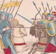 Croisades Combat des Croisés contre les Infidèles