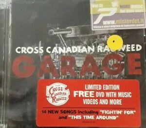 CROSS CANADIAN RAGWEED- GARAGE *CD/DVD 2PZ BRAND NEW SEALED NUOVO SIGILLATO RARO
