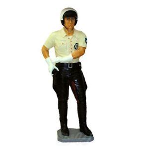 POLIZIST lebensgroß USA Deko Figur AMERIKA Dekoration US POLICE OFFICER WERBUNG