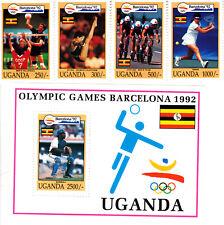 Uganda 1992 Summer Olympic, Barcelona 1992, MNH, perf. Y #1