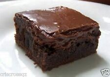 Homemade DARK CHOCOLATE BROWNIES  * FROSTED * Peanut Butter NUTELLA Caramel