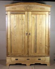 Jugendstil Kleiderschrank um 1910,  zerlegbar, wohnfertig restauriert