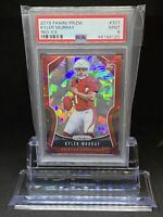 🔥2019 Panini Prizm KYLER MURRAY Red Ice #301 PSA 9 RC Rookie CARDINALS 📈🔥